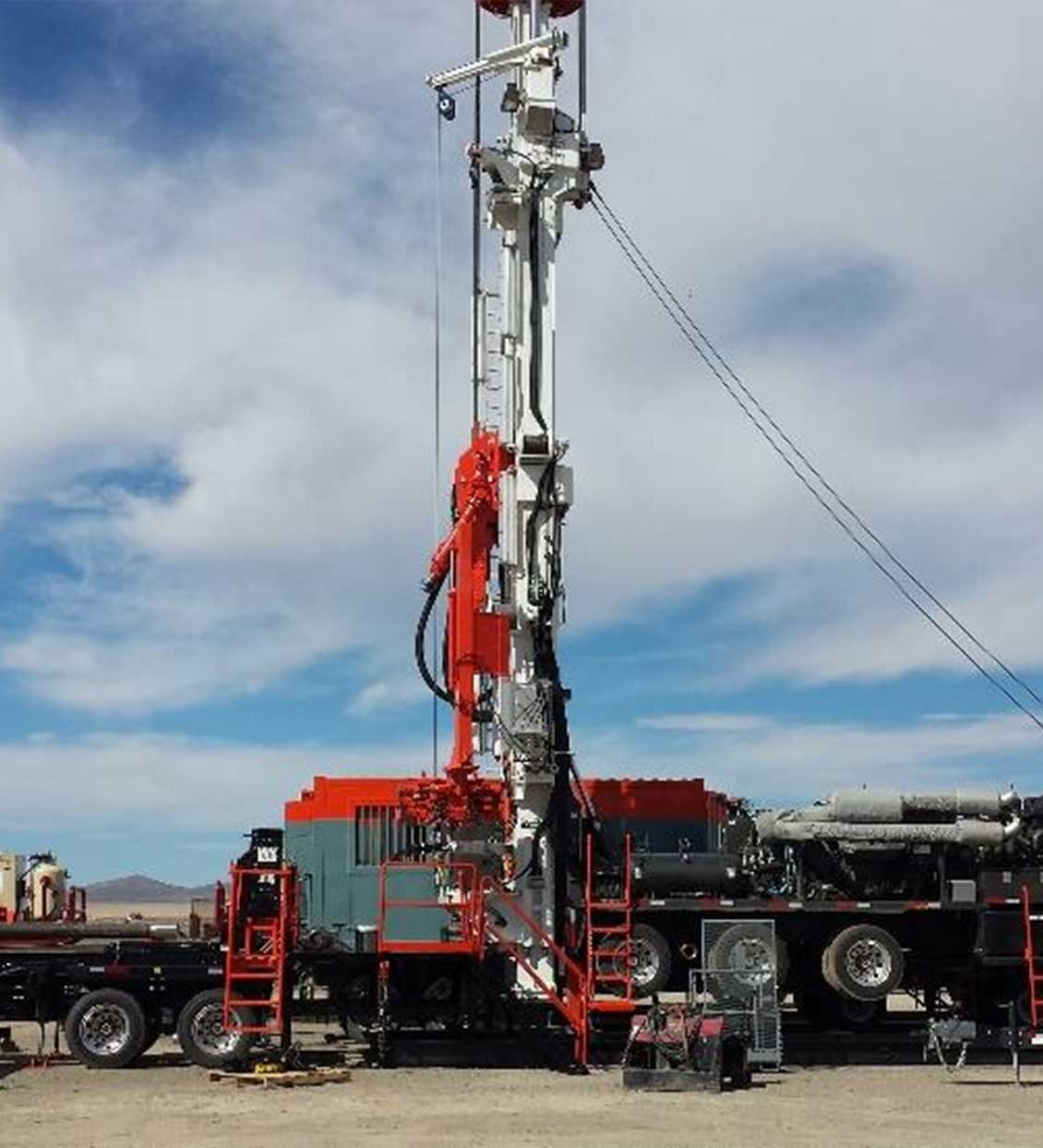 Schramm T200XD Portable Top Head Drilling Rig